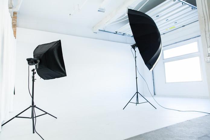 Studio A - Lighting setup