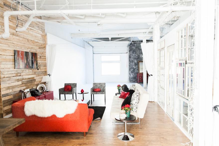 Studio A - Communal Lounge Area