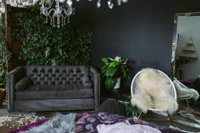 Studio E Bedroom Couch