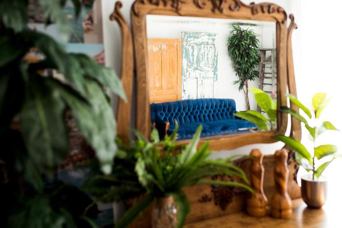 Studio D - Antique Dresser reflection