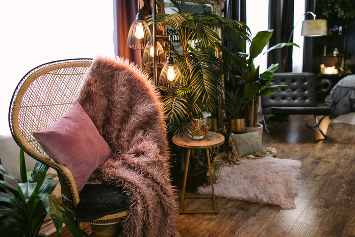 Studio B - Peacock chair