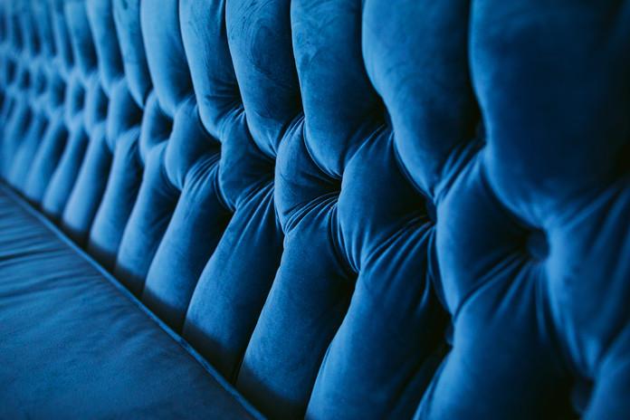 Studio D - Blue Couch Detail
