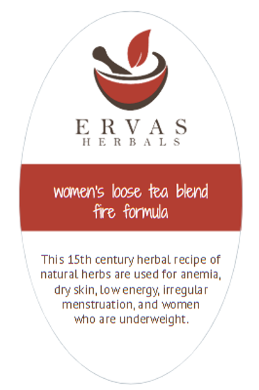 Women's Loose Tea Blend Fire Formula Tea