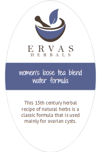 Women's Loose Tea Blend Water Formula Tea