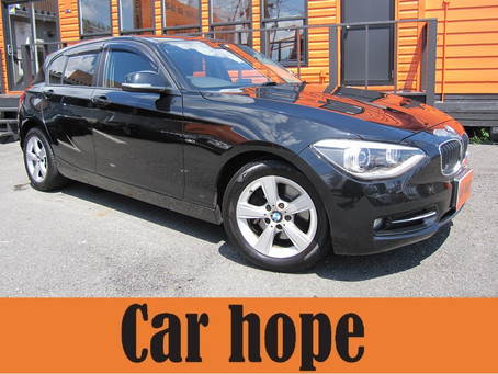 BMW1シリーズが入庫しました!