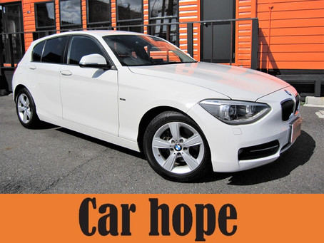 BMW1シリーズ、ベンツBクラスが入庫しました!