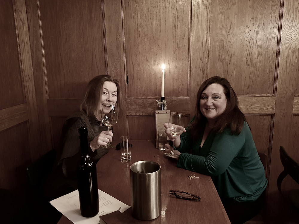 Photo: me and Tanya at Old Tom's disconnecting ...