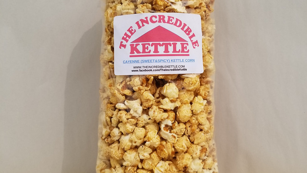 Sweet & Spicy Kettle Corn