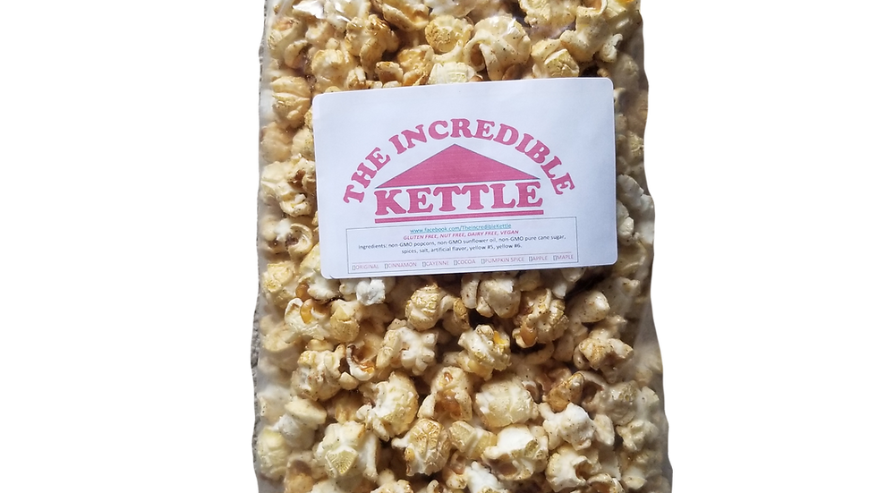 Apple Cinnamon Kettle Corn