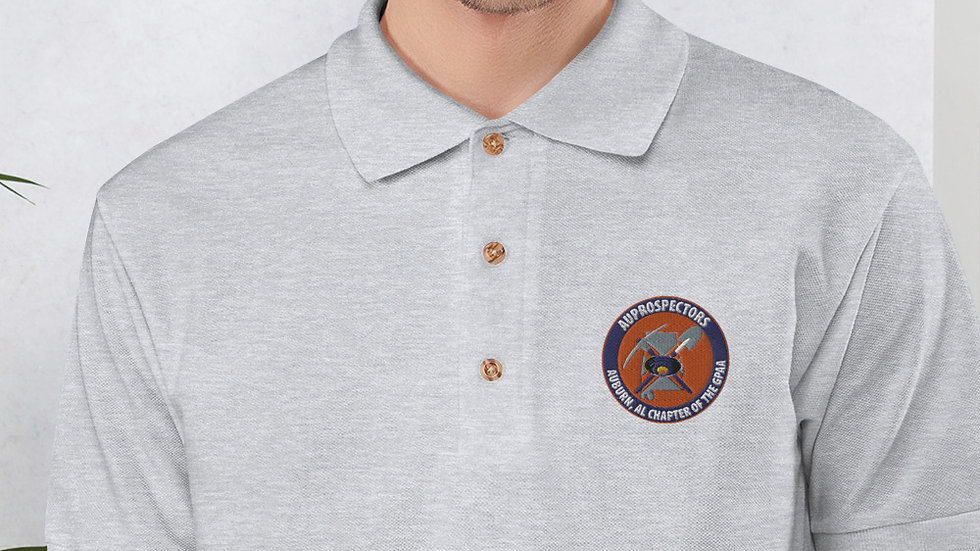 Embroidered AUPROSPECTORS Polo Shirt