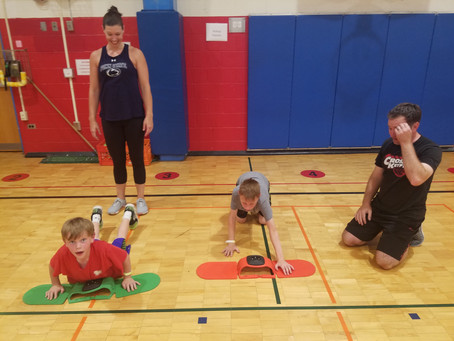 Family Physical Challenge Week 14, 2021