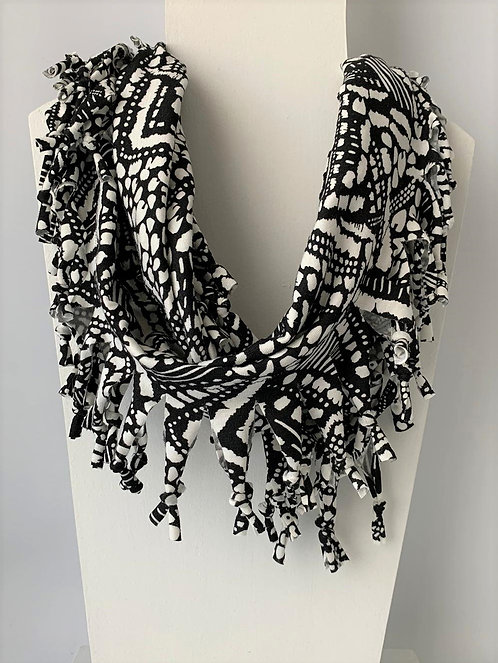 The Short Knotted Scarf: New Tribal