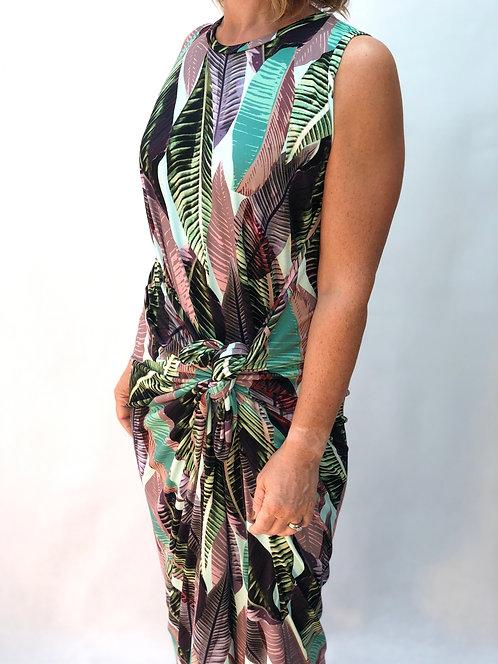 The Dress: Pastel Leaf
