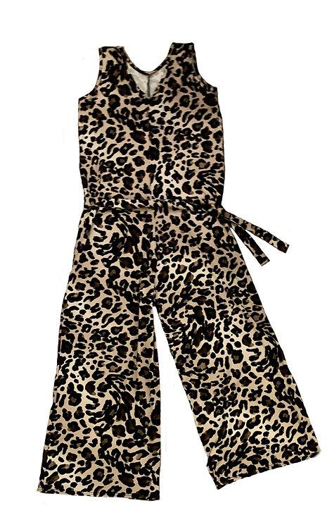 The Jumpsuit: Leopard
