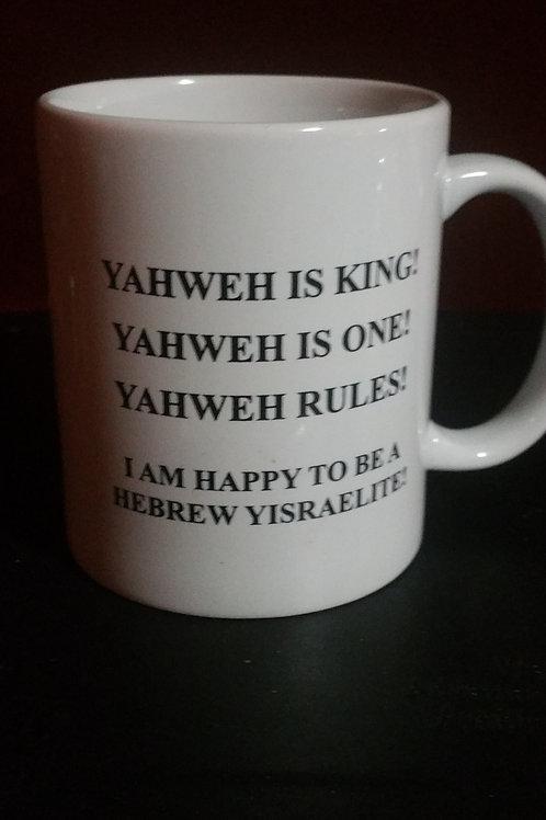 House of YisraEl of Atlanta - YAHWEH Mug