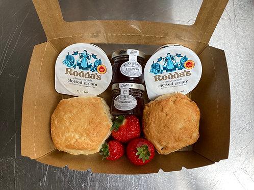 BYOBox- Scone, Jam and Cream