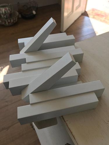White Wooden Hooks