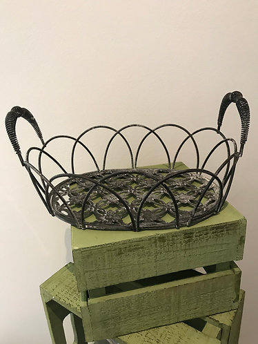 Rustic Wire Basket - Small