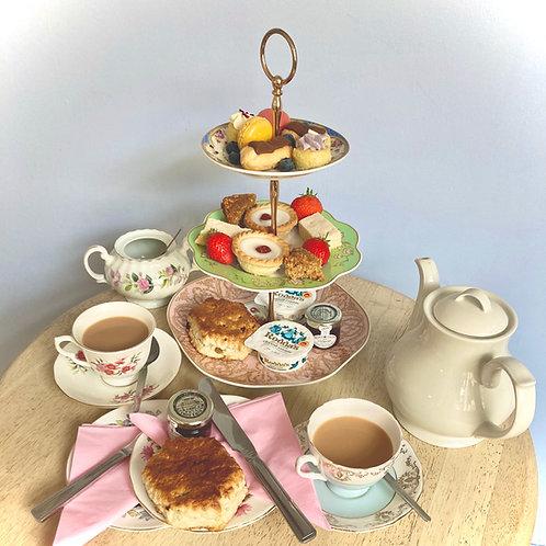 Cream Tea for Four