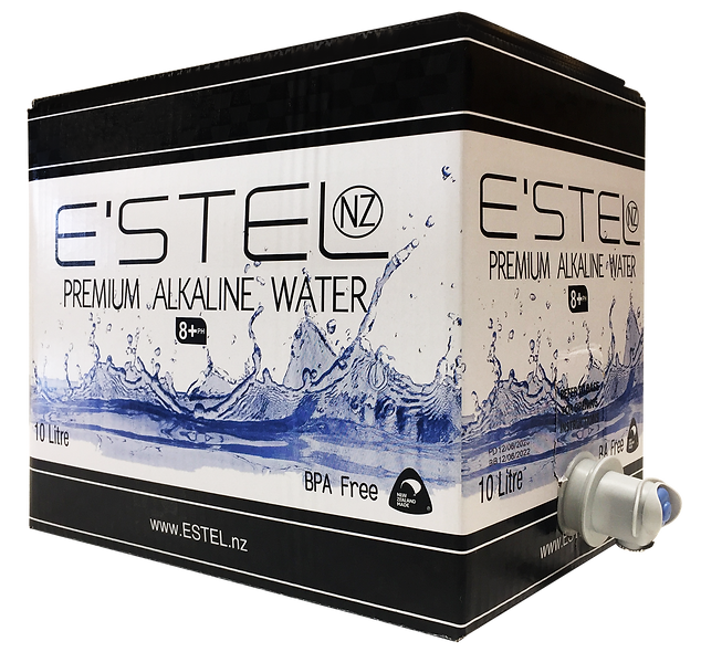 E'stel '10' Eco Box - Natural Alkaine Water