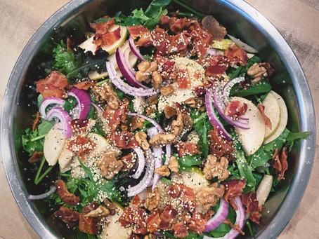 #BasicAF Bacon Salad