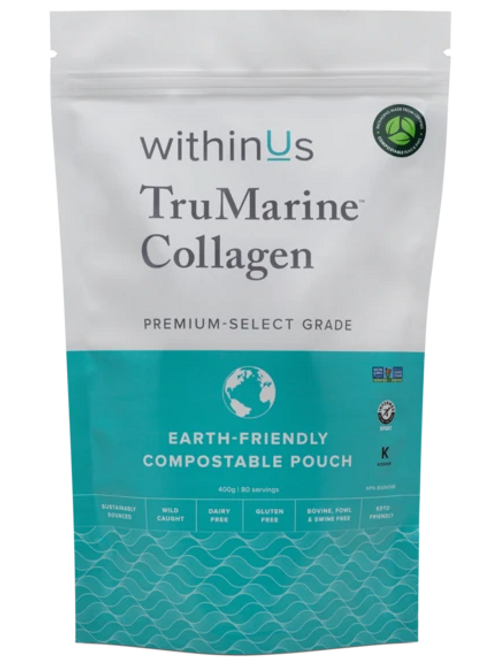WithinUs TruMarine Collagen - 80 servings