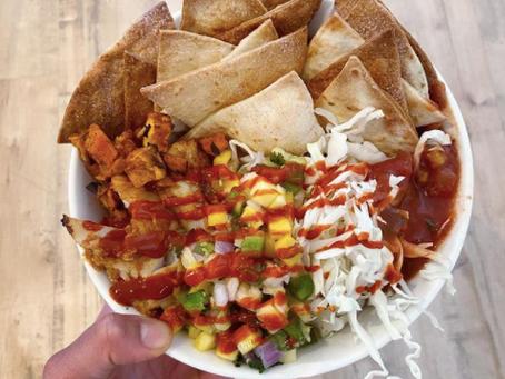 Crunchy Cod Taco Bowls