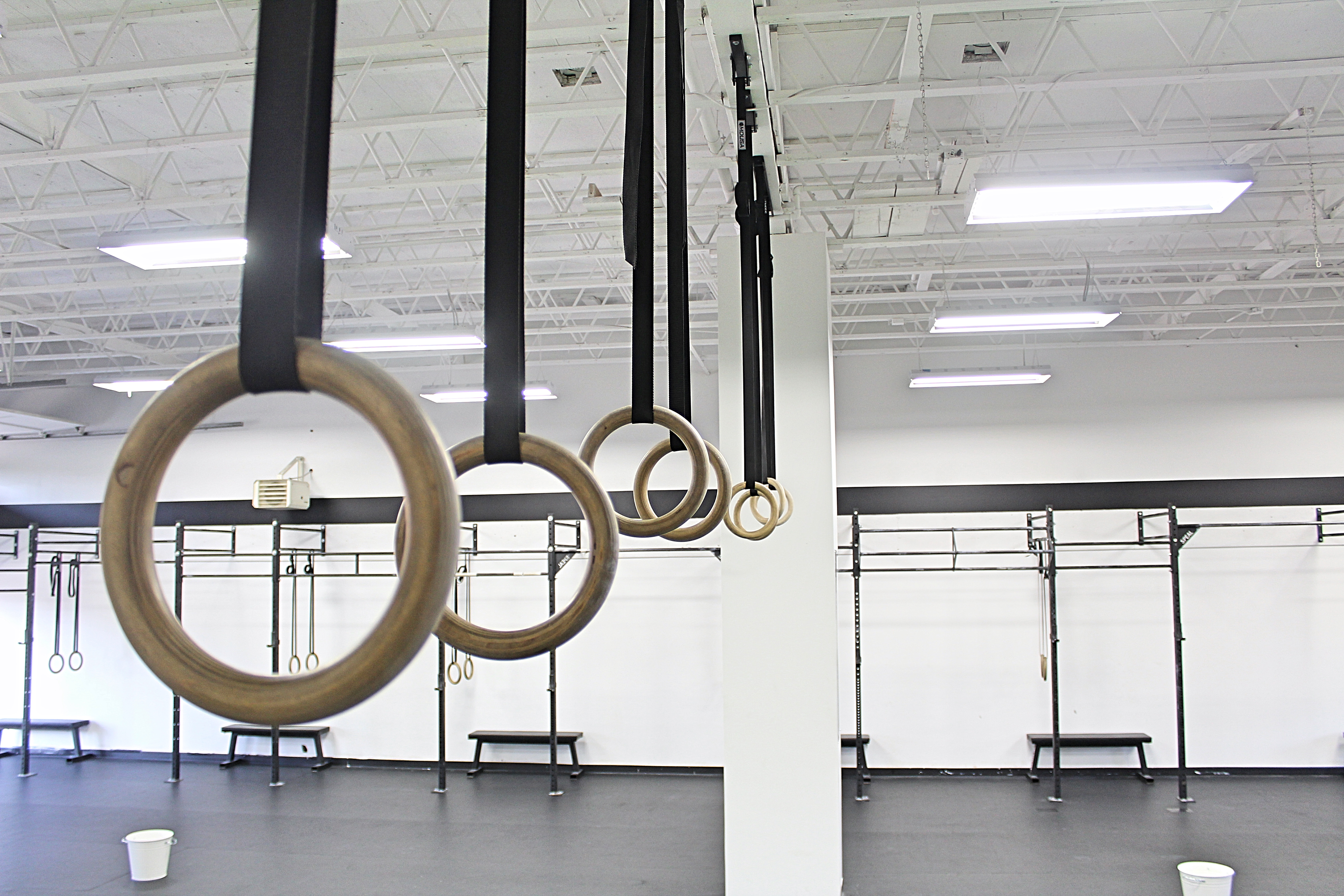 GYM MUSCLE UP RINGS