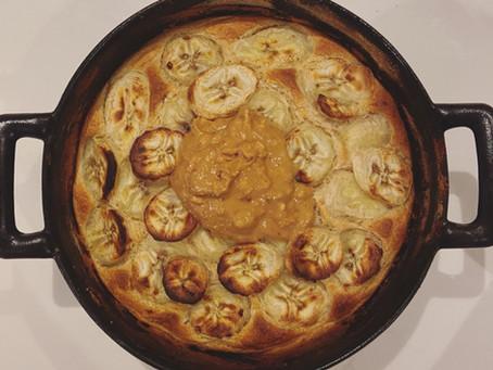SnS #BasicAF Air Fryer Banana Pancake