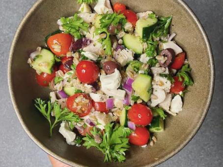SnS Mediterranean Salad