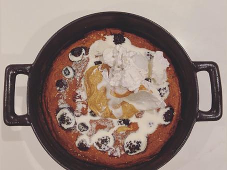SnS Proat-cake with Hidden Veggies!