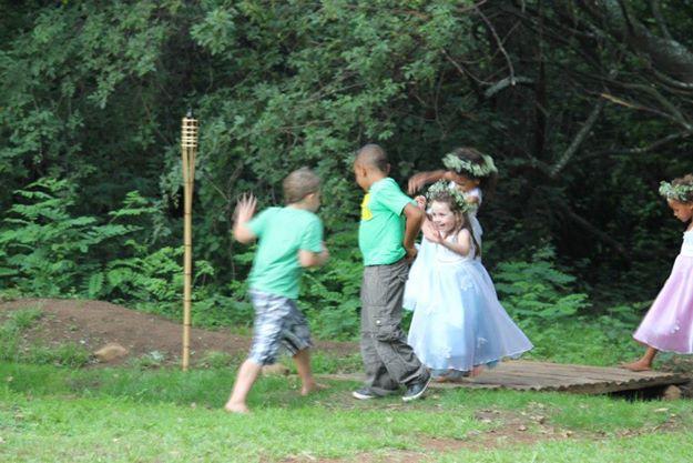 wedding kids'