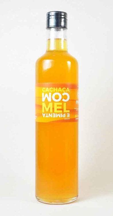 Cachaça com Mel e Pimenta - 670 ml