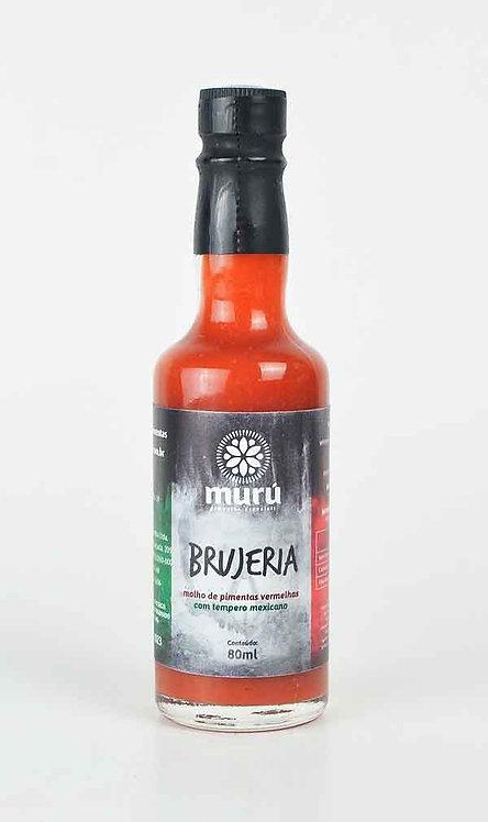BRUJERIA - Molho de pimentas vermelhas com tempero mexicano