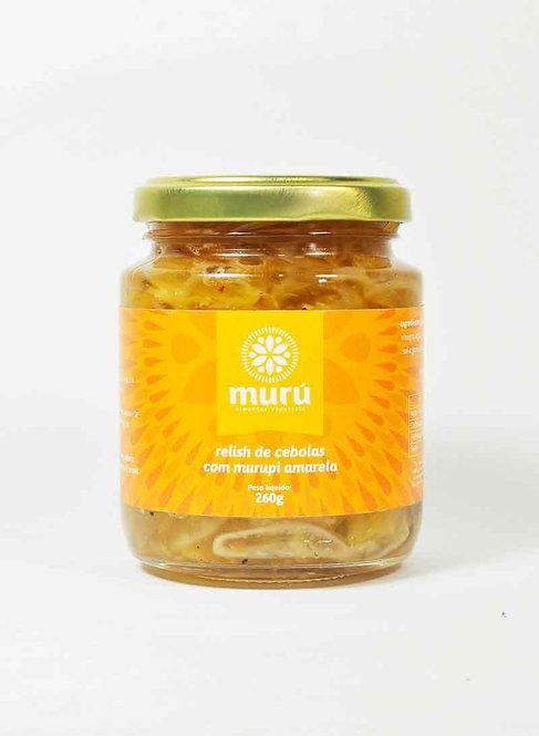 Relish de Cebola com Murupi Amarela