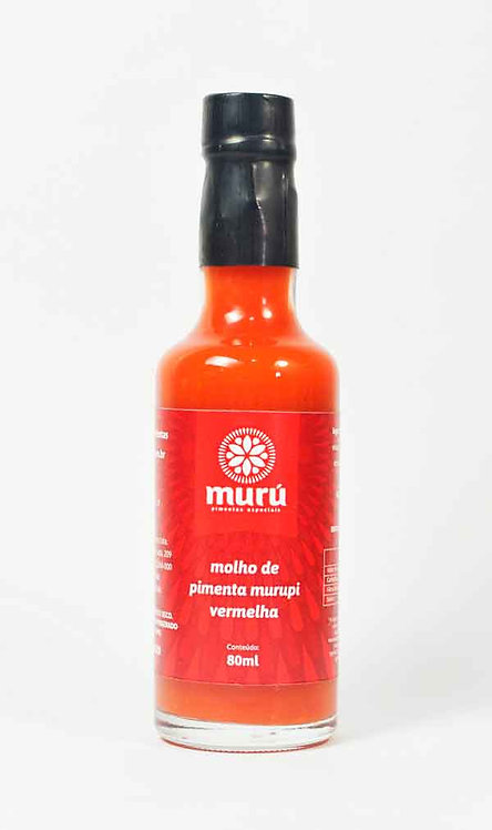 Molho de pimenta Murupi Vermelha