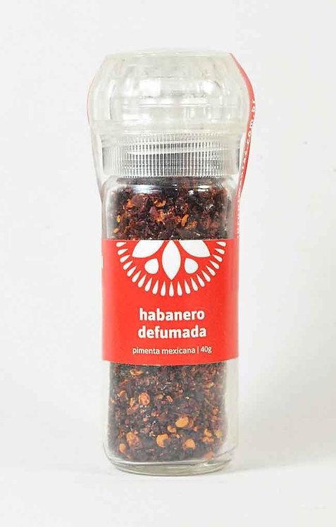 Pimenta Habanero Defumada - Com moedor