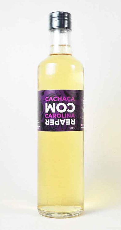 Cachaça com Pimenta Carolina Reaper - 670 ml