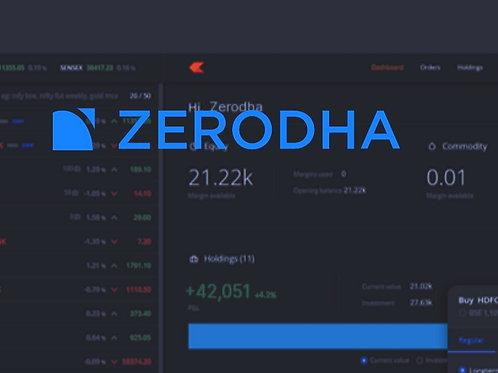 Integrate Zerodha on your website