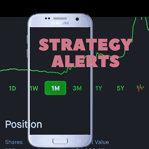 Strategy alerts & Trade from telegram