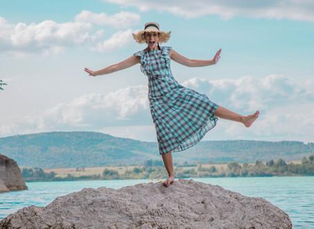 "Melody's road trip : Location N°1 ""Lac de Chalain"""