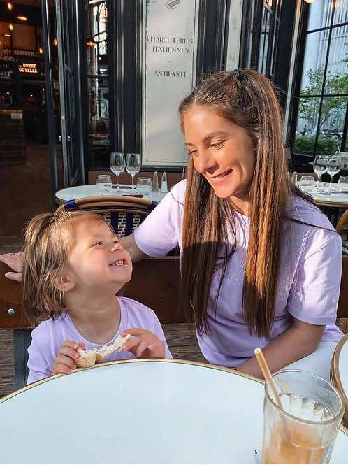 DUO TEESHIRTS Pastel - Matchy-Matchy Parents-Enfants