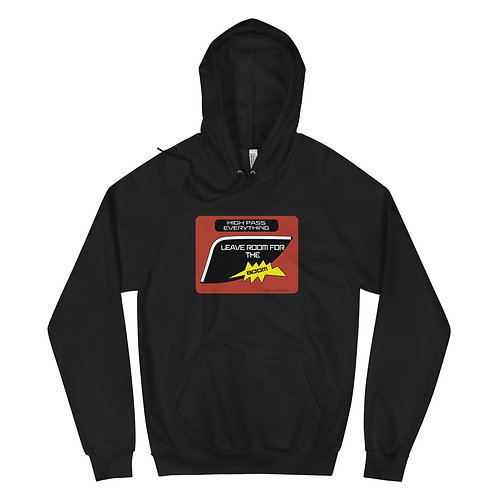 High Pass Everything - Audio Unisex Fleece Hoodie