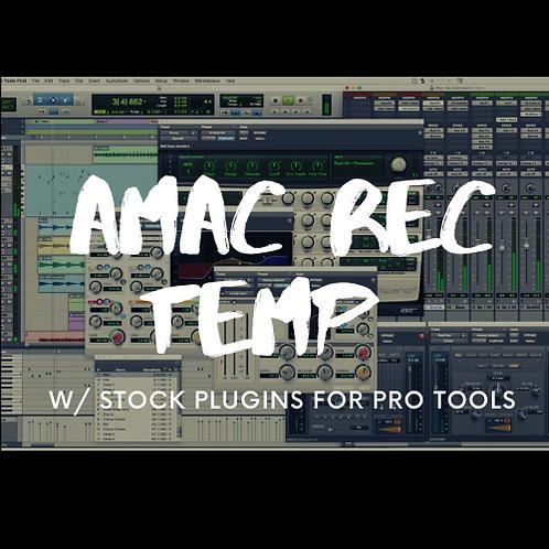 AMAC REC TEMP STOCK PLUG INS PRO TOOLS