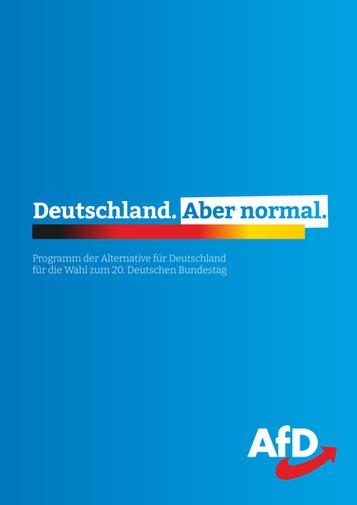 Bundestagswahlprogramm