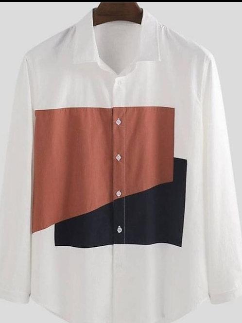Men Casual Full Sleeves Shirt