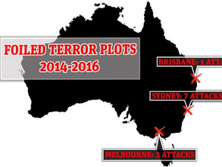 Foiled Terror Plots in Australia