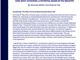 Article: Lone Wolf Attacks Using Explosives in Australia