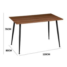 Table à manger rectangulaire NOYER