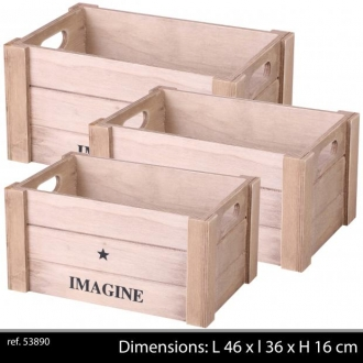 Caissettes de rangement